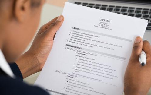 Easy Resume Tips